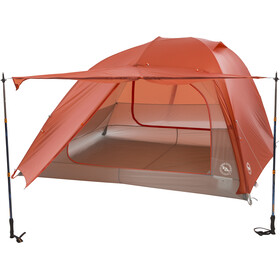 Big Agnes Copper Spur HV UL4 Tenda, orange